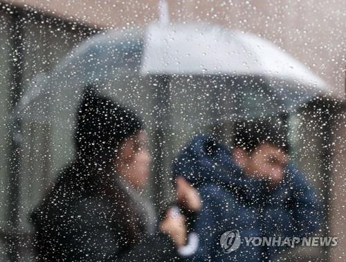 내일부터 수요일까지 전국에 비…강원 영동·제주 산지 100㎜↑