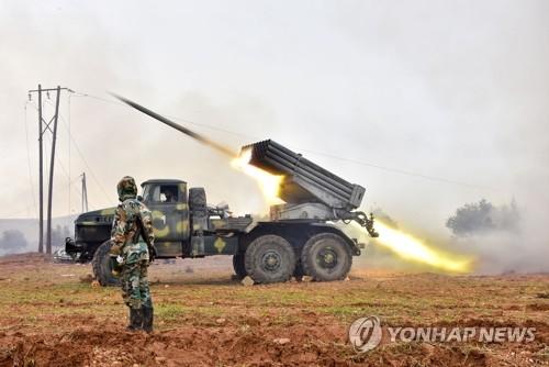 시리아 정부군, 반군 거점 또 공격…최소 18명 사망