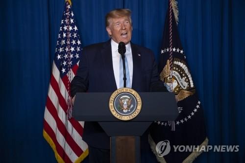 """트럼프 """"이란 보복공격 땐 52곳에 반격할 준비돼 있다"""" 경고(종합)"""