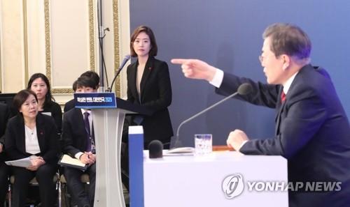 초반 쏟아진 '검찰 개혁·인사' 질문…문 대통령, '상세' 답변
