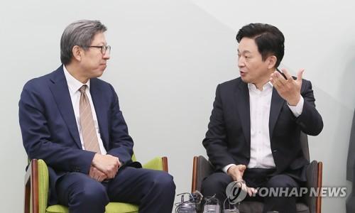 """원희룡 제주지사, 보수통합 합류의사…""""힘 보태겠다"""""""