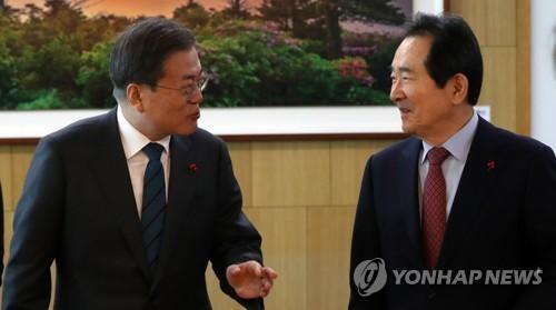 """""""권력은 민주적으로 분산""""…문대통령, '검경개혁' 동력 이어가기"""