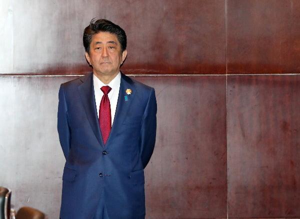 아베 신조 일본 총리. 연합뉴스