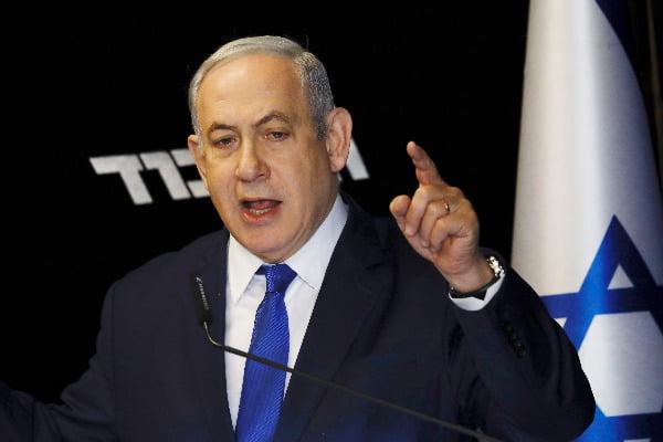 베냐민 네타냐후 이스라엘 총리  /AP