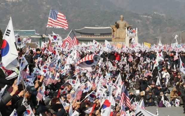새해 첫 주말에도 광화문 집회 /사진=연합뉴스
