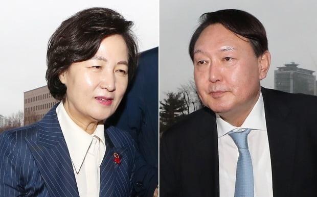 추미애 법무부 장관과 윤석열 검찰총장 /사진=연합뉴스