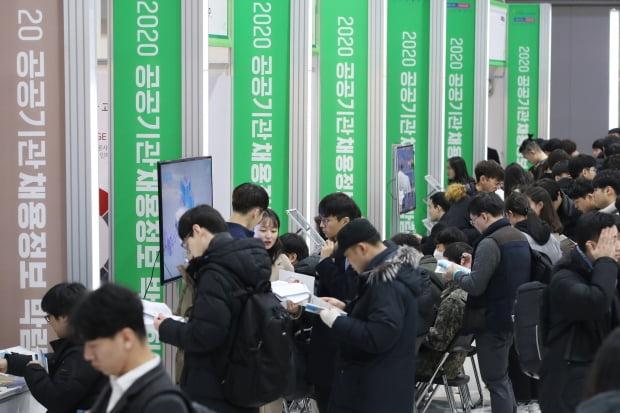 20대 후반 실업자 비중…한국, 7년째 OECD 1위