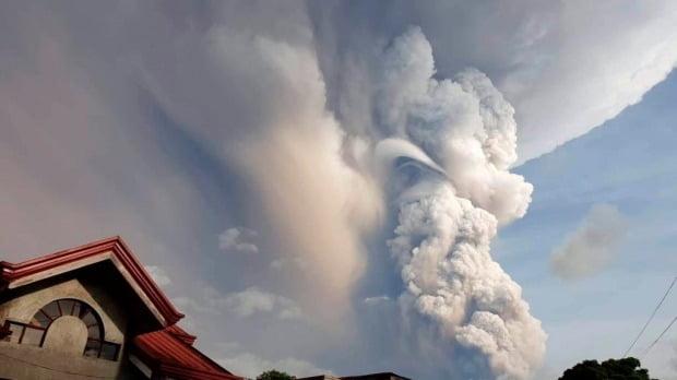 필리핀 화산 폭발 /사진=AP