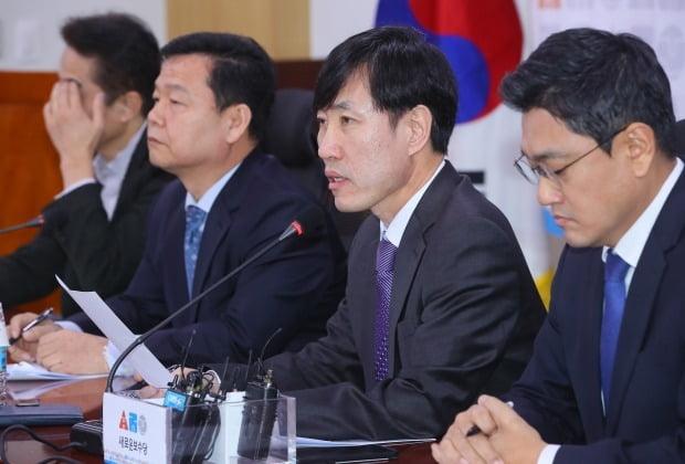 하태경 새보수당 책임대표가 '양당협의체' 구성과 관련 자유한국당 압박 수위를 높였다. /사진=연합뉴스