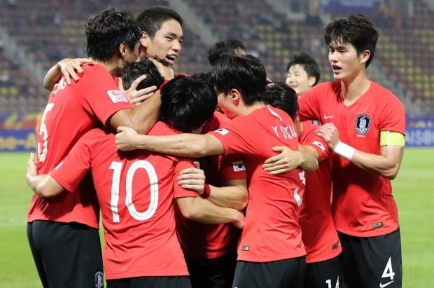 한국 U-23 축구대표팀 /사진=연합뉴스