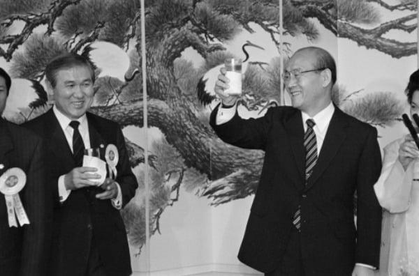 노태우 전 대통령과 전두환 전 대통령(왼쪽부터) /사진=연합뉴스