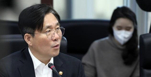 성윤모 산업통상자원부 장관 [사진=연합뉴스]