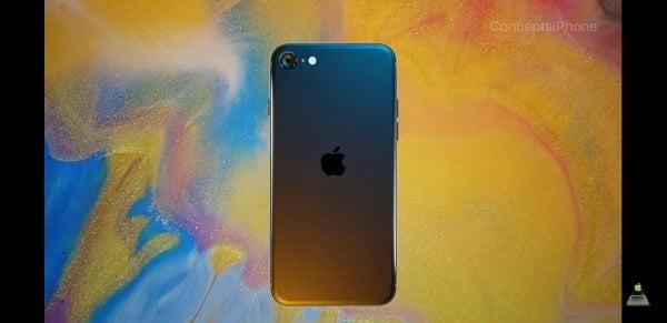 아이폰SE2(아이폰9) 예상 랜더링 이미지/사진=콘셉트아이폰 캡처