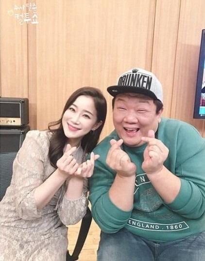 김하영 유민상 / 사진 = '컬투쇼' SNS