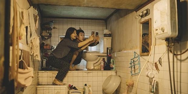 봉준호 감독의 영화 '기생충'의 한 장면.
