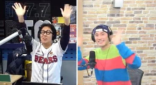 김영철, 조한선/사진=SBS 파워FM '김영철의 파워FM' 영상 캡처