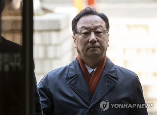 '인보사 의혹' 코오롱생명 이우석 대표 / 사진 = 연합뉴스