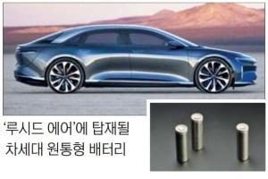 LG화학, '테슬라 라이벌' 美 루시드모터스에 차세대 원통형 배터리 공급