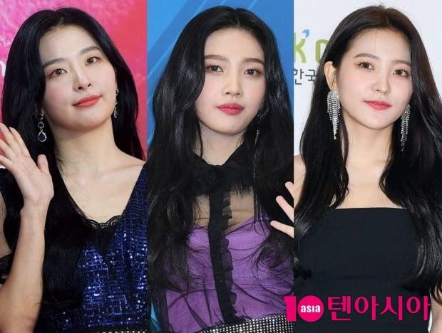 그룹 레드벨벳의 슬기, 조이, 예리 / 사진=텐아시아DB