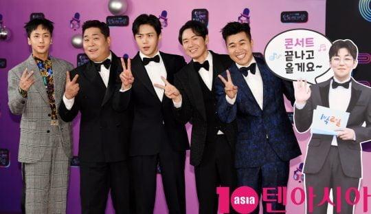 '1박 2일 시즌4' 멤버들/ 사진=텐아사아DB