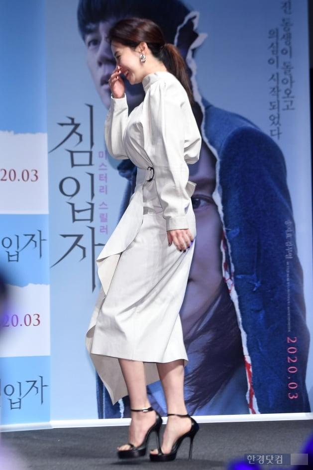 [포토] 송지효, '큰 키에서 나오는 우아함'