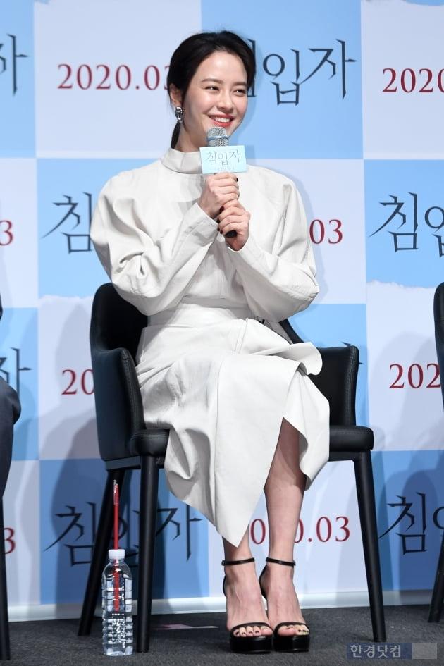 [포토] 송지효, '순백의 화이트 의상 입고'