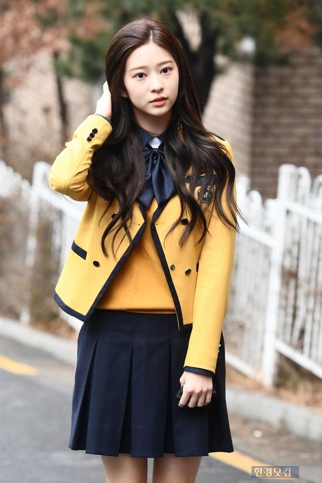 [포토] 아이즈원 김민주, '반짝반짝 빛나는 미모'