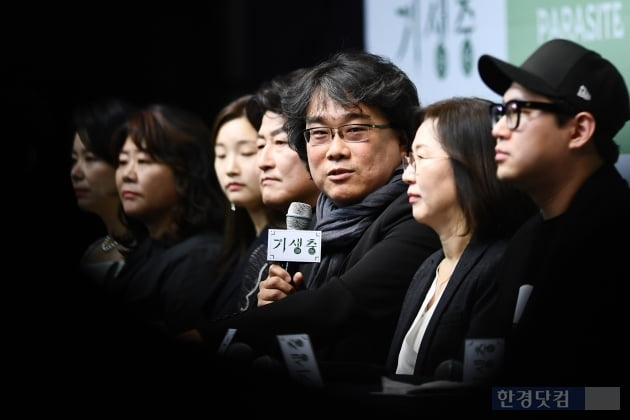 '기생충' 한진원 작가, 기자회견서 가사도우미 이모·수행기사에게 감사 표한 이유는?