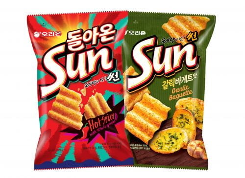 오리온,      '태양의 맛 썬' 누적판매 6000만 봉 돌파