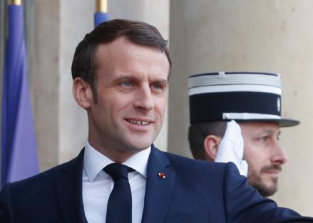 """에마뉘엘 마크롱 프랑스 대통령 """"브렉시트는 실패이자 교훈"""""""