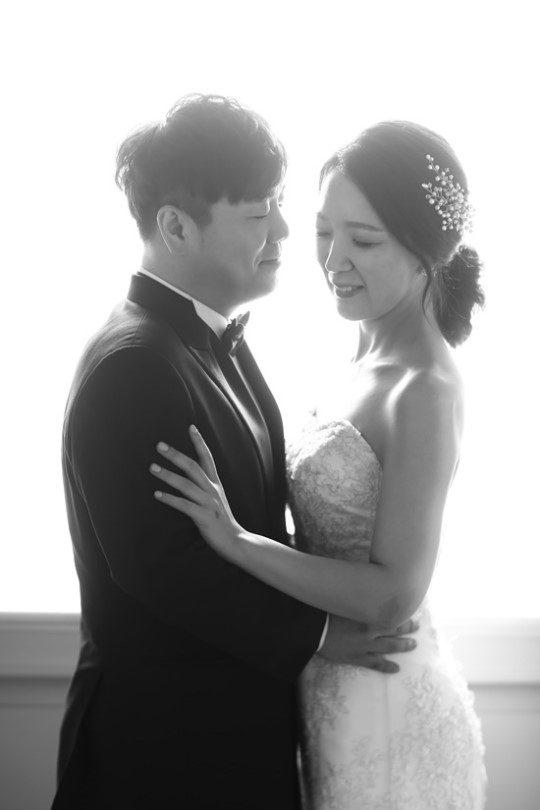 개그맨 겸 뮤지컬배우 김성규(왼쪽)과 허신애 / 사진제공=망고아뜨스트