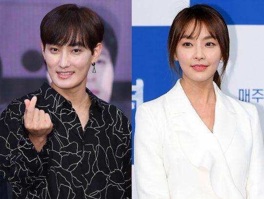 가수 강타(왼쪽)와 배우 정유미 / 사진=텐아시아DB