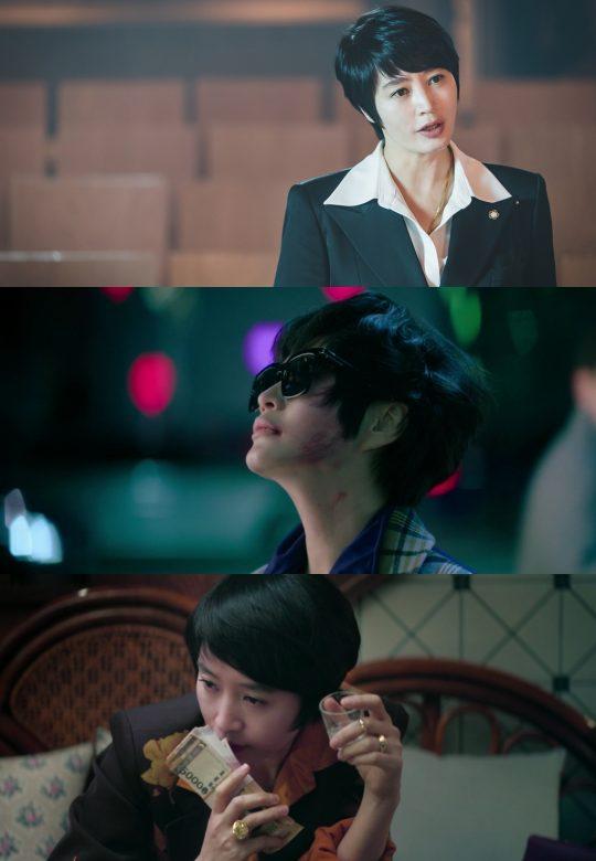 '하이에나' 김혜수. /사진제공=SBS