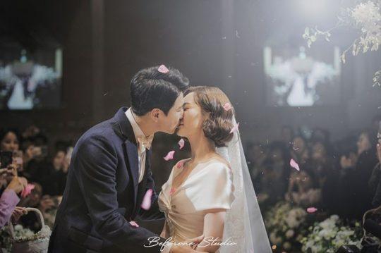 배우 김승현, 작가 장정윤 부부. / 제공=비포원스튜디오
