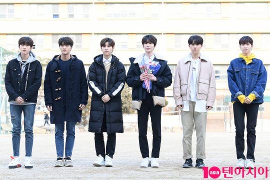 김민서(왼쪽부터), 차준호, 김동윤, 주창욱, 황윤성, 이협