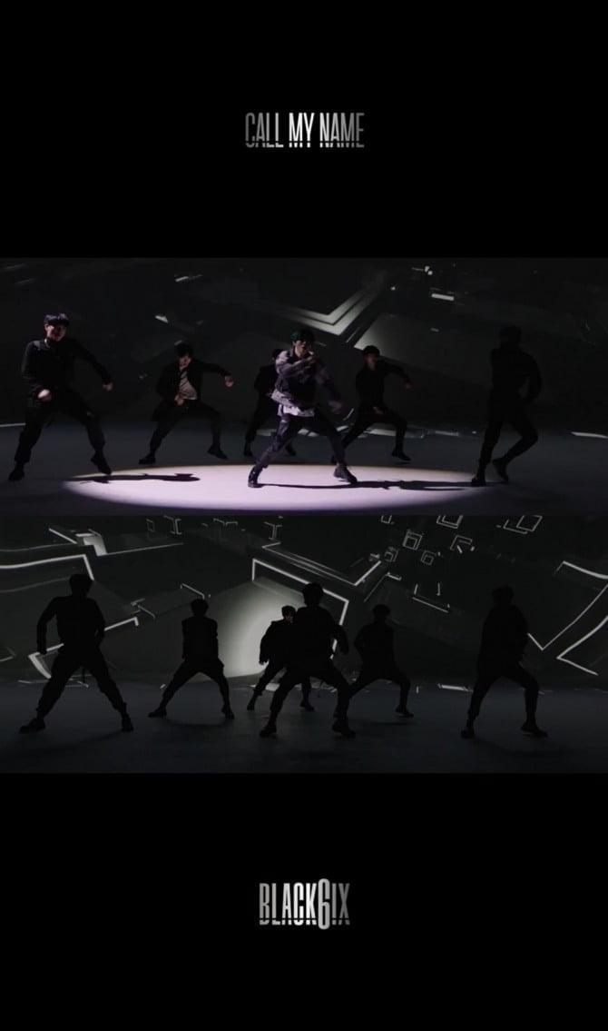 블랙식스, 팬들 위해 깜짝 댄스 스포 공개 '독보적 칼군무 속 6인 6색 예고'