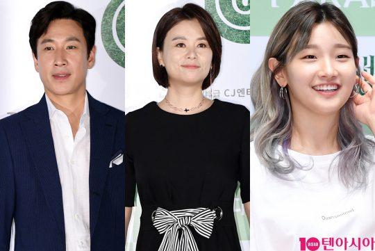 배우 이선균(왼쪽부터), 장혜진, 박소담. /사진=텐아시아DB