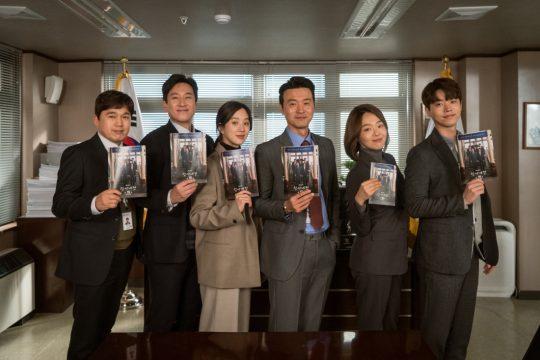 JTBC '검사내전' 출연 배우들. / 제공=에스피스
