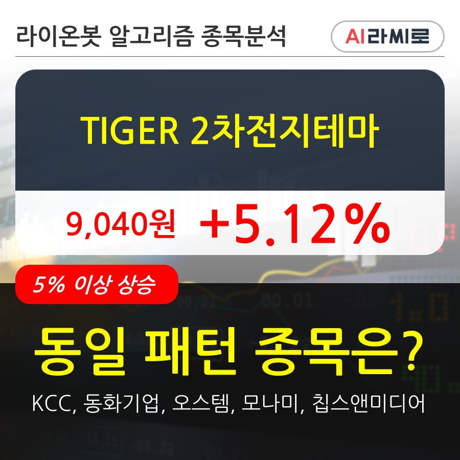 TIGER 2차전지테마