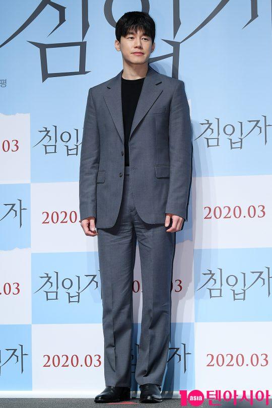'침입자'에서 배우 김무열은 유진을 의심하고 정체를 파헤치는 오빠 서진을 연기했다. /이승현 기자 lsh87@