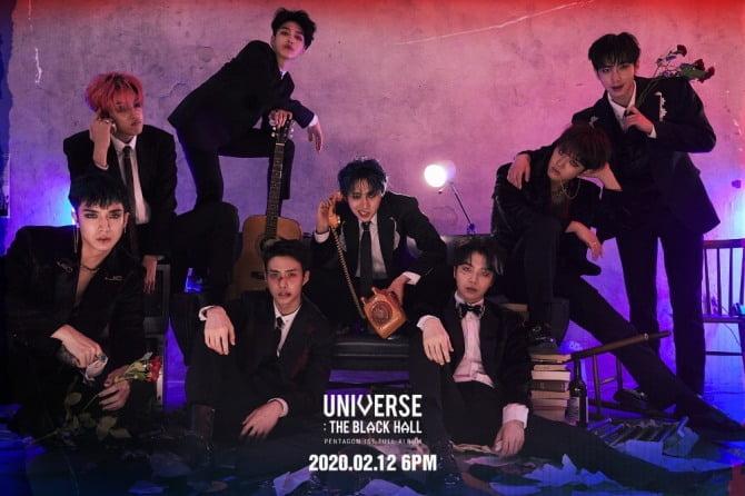 펜타곤, 12일 첫 정규앨범 `UNIVERSE : THE BLACK HALL` 발매