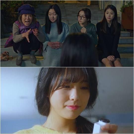 """맨 오른쪽이 tvN 드라마 '도깨비'에 나왔던 고수정, 아래는 방탄소년단 'with Seoul' 뮤직비디오에 나온 고수정./ 사진='도?비""""with Seoul' 캡처"""