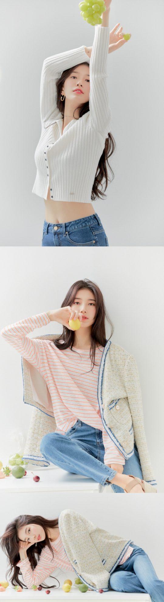 배우 겸 가수 수지./사진제공=게스