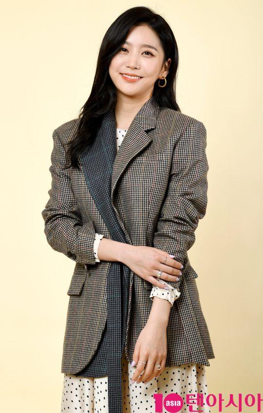TV조선 특별기획드라마 '간택'에서 영악하고 영특한 규수 김송이 역으로 열연한 배우 이화겸. /조준원 기자 wizard333@