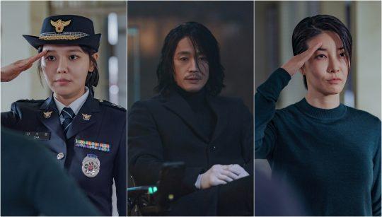 '본 대로 말하라' 최수영(왼쪽부터), 장혁, 진서연./ 사진제공=OCN