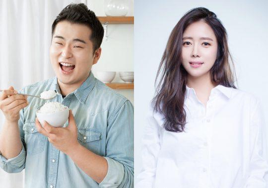 셰프 이원일(왼쪽), 배우 최송현./사진제공=MBC '부러우면 지는거다'