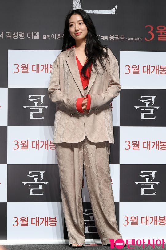배우 박신혜가 17일 오전 서울 신사동 CGV압구정에서 열린 영화 '콜' 제작보고회에 참석했다./이승현 기자 lsh87@