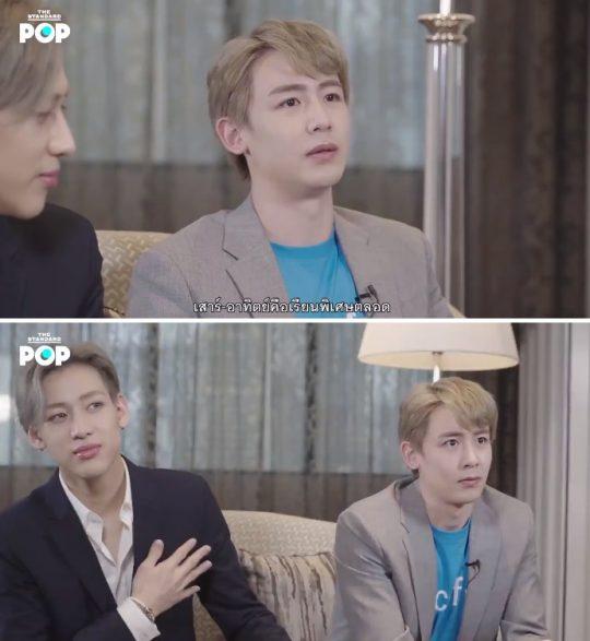 그룹 2PM 닉쿤 / 사진=더 스탠다드 방송화면