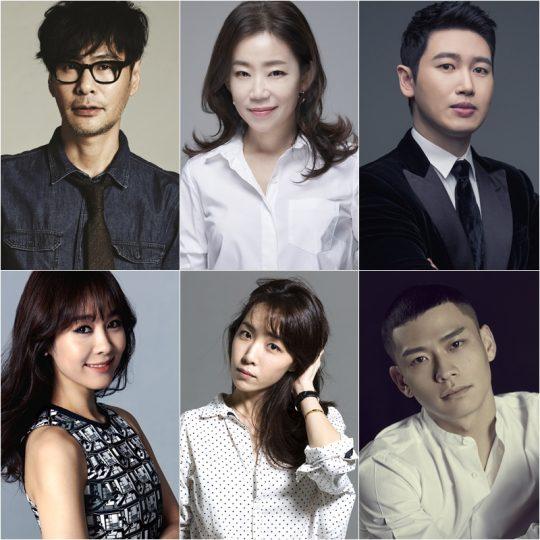 JTBC '팬텀싱어3' 프로듀서 군단. /