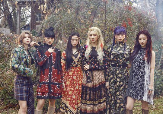 그룹 드림캐쳐의 다미(왼쪽부터), 시연, 가현, 유현, 지유, 수아. / 사진제공=드림캐쳐컴퍼니